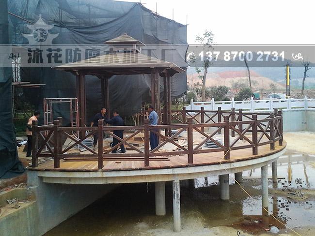郴州嘉禾市民广场亭台
