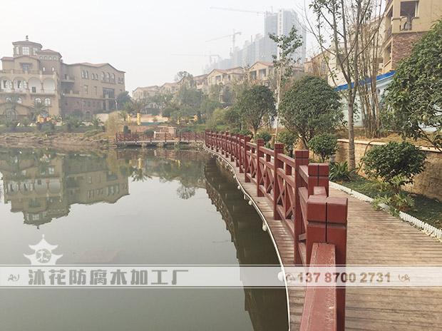 湘潭东湖山庄栈道平台