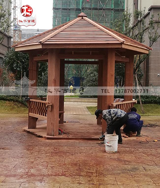 永州碧桂园现代六角亭
