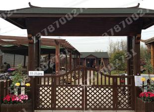 护栏花园门