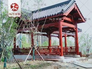 岳阳亭廊建造施工