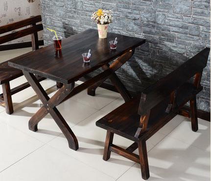 防腐木实木桌椅